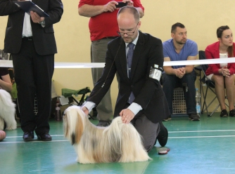 Lilly winning BOB at Specialty in Slovakia